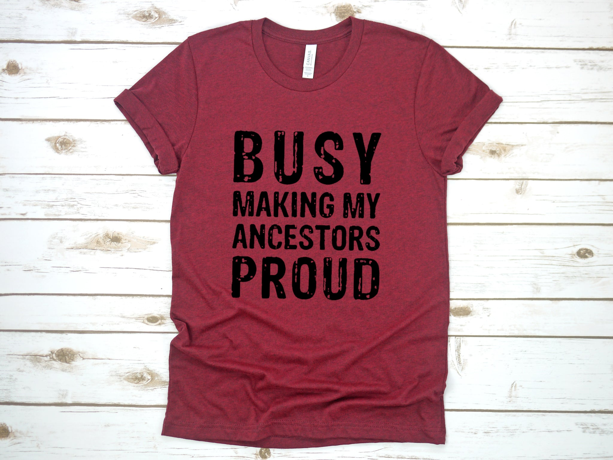 Busy Making My Ancestors Proud: Crew