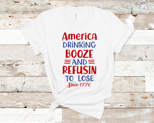 America Drinkin Booze Refusing To Lose: Crew