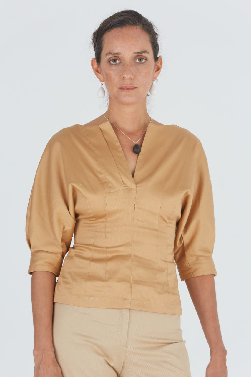 Top Domingo Beige 40% off