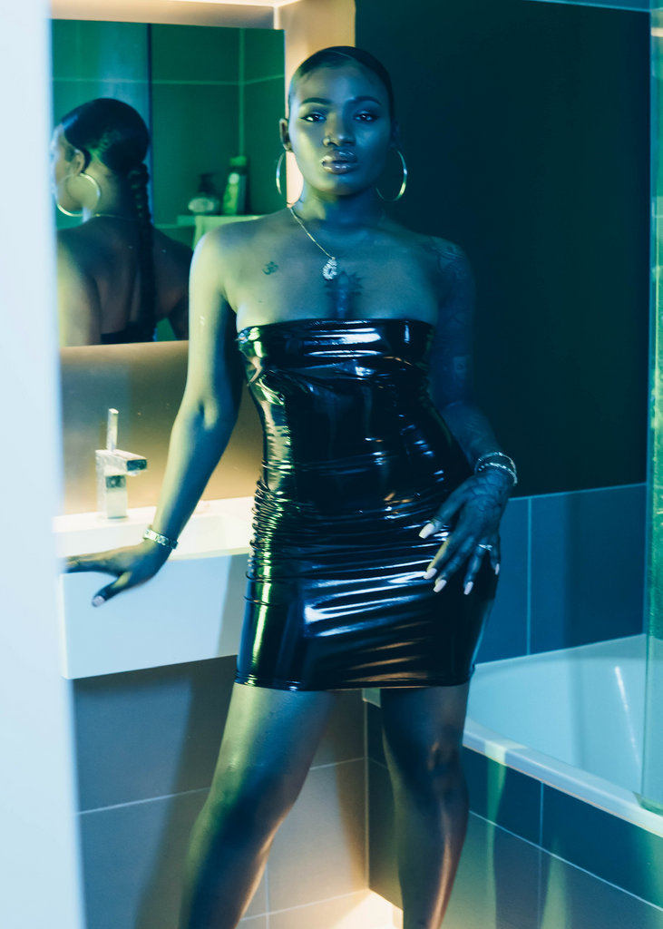Dirty D Latex Dress