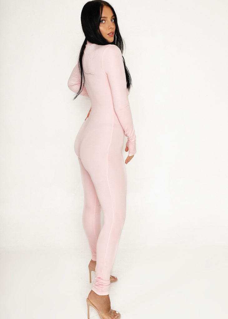 Baby Pink GLOW Jumpsuit