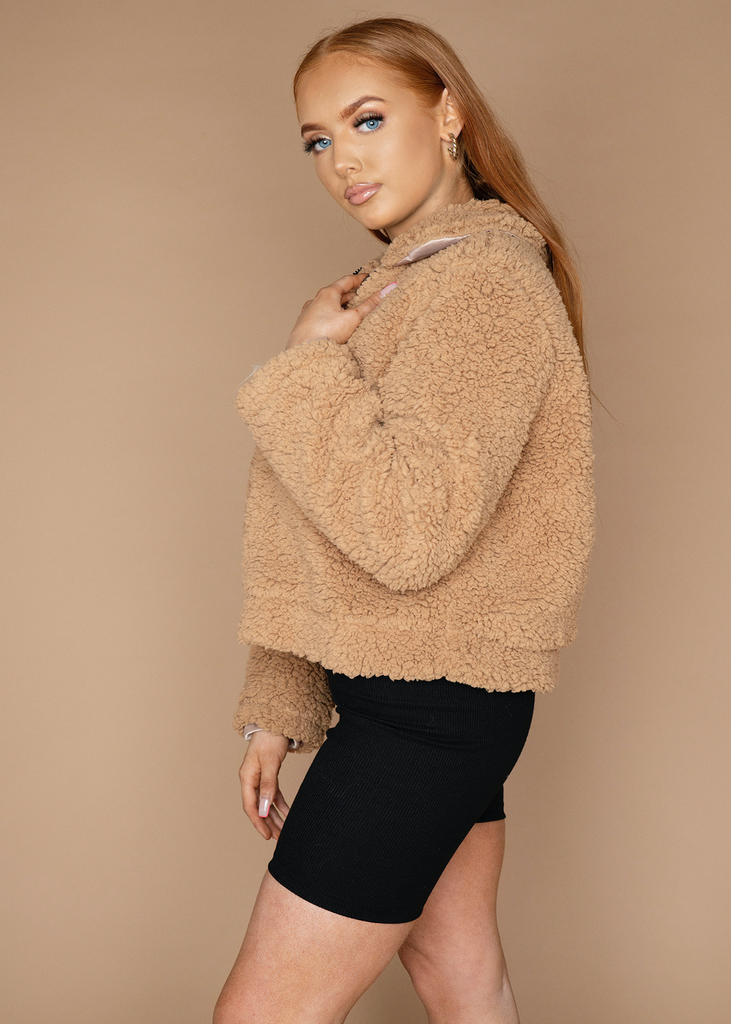Nude Teddy Jacket