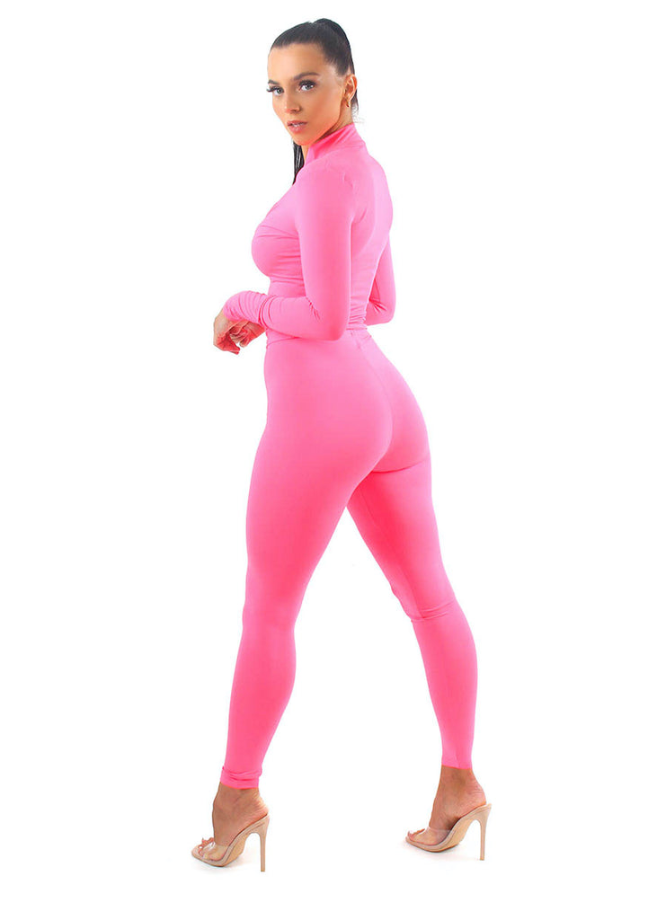 Pink GLOW Tracksuit