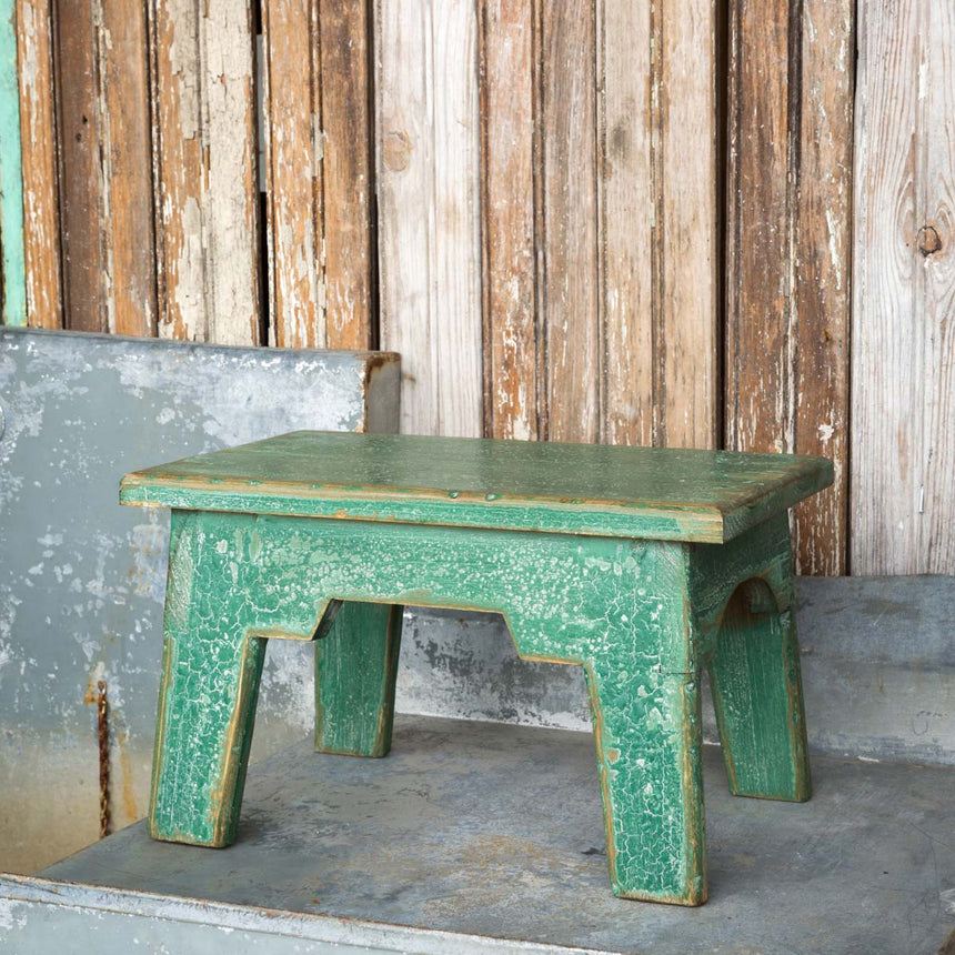 Bed Stool Green