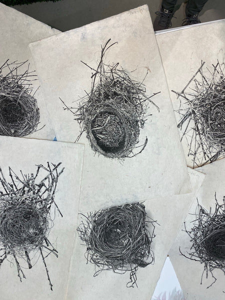 Nest Study on Handmade Paper Assorted Styles