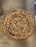 Water Hyacinth Round Charger