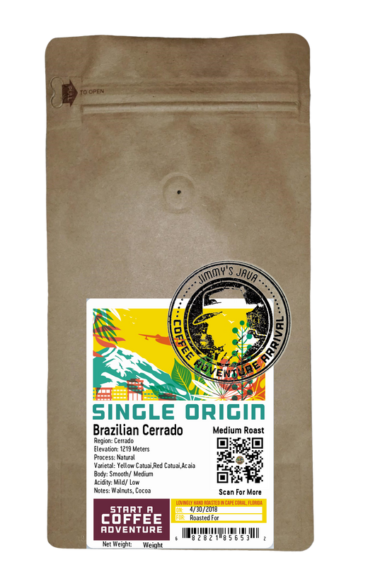 Brazilian Cerrado Medium Roast Coffee