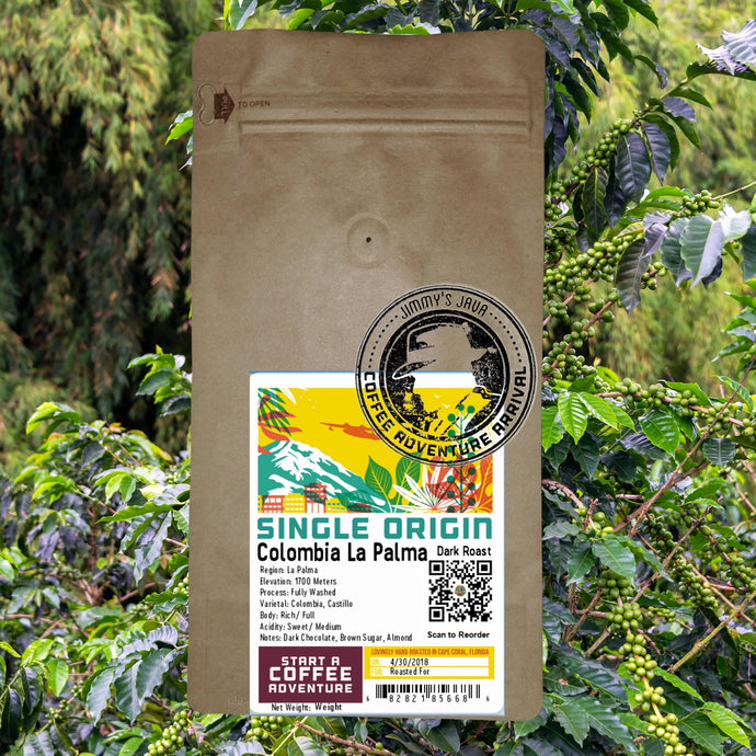 Fresh bean-roast-you Colombian Medium roast coffee