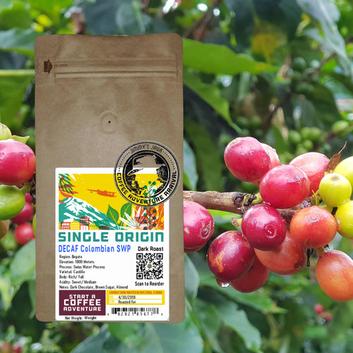 Decaf Colombia Royal Select MWP Dark Roast
