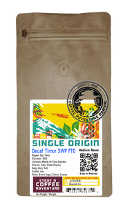 Decaf Timor SWP FTO Medium Roast