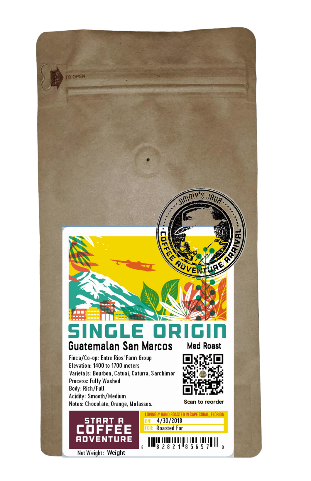 Guatemalan SHB San Marcos Medium Roast