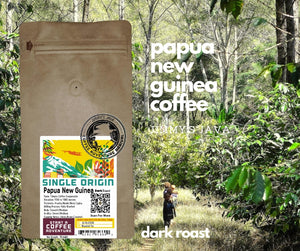 Papua New Guinea Timuza Dark Roast Coffee