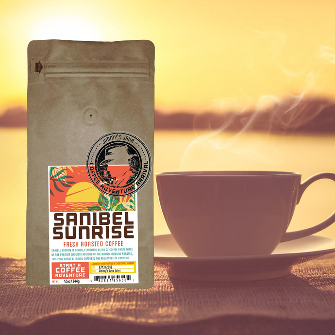 Sanibel Sunrise morning coffee blend - Medium Roast