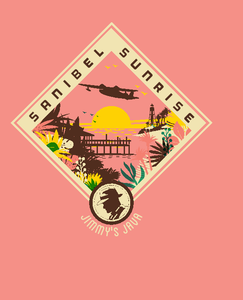 SHORT SLEEVE T-SHIRT-SANIBEL SUNRISE