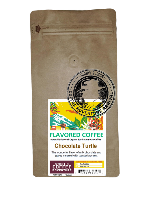 Chocolate Turtle Flavored Natural Coffee