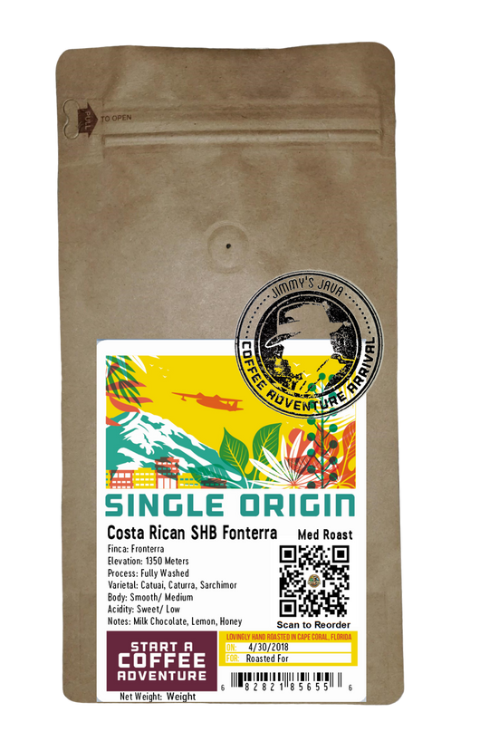 Costa Rican SHB Fronterra Medium Roast