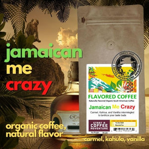 Jamaican Me Crazy Flavored Natural Coffee