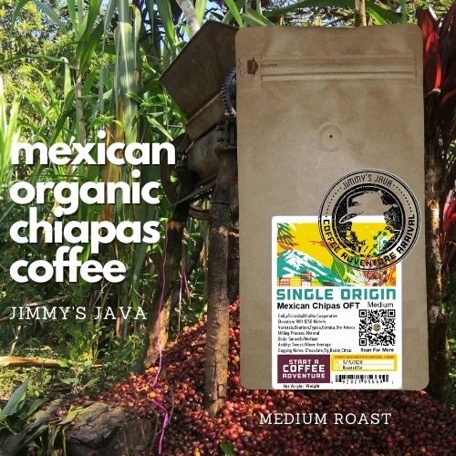 organic mexican chiapas medium roasted coffee
