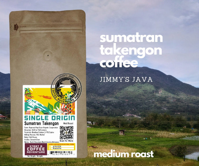 Best Sumatran Takengon KKGO Medium Roast Coffee