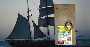 DECAF- Monsoon Malabar MWP Dark Roast Coffee (Decaf Dr Bombay)