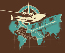 Load image into Gallery viewer, Short Sleeve T-Shirt - World Trade Routes Design