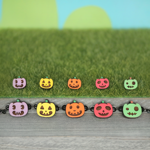 Colorful Pumpkins Set