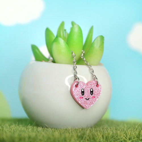 Kawaii Heart Necklace