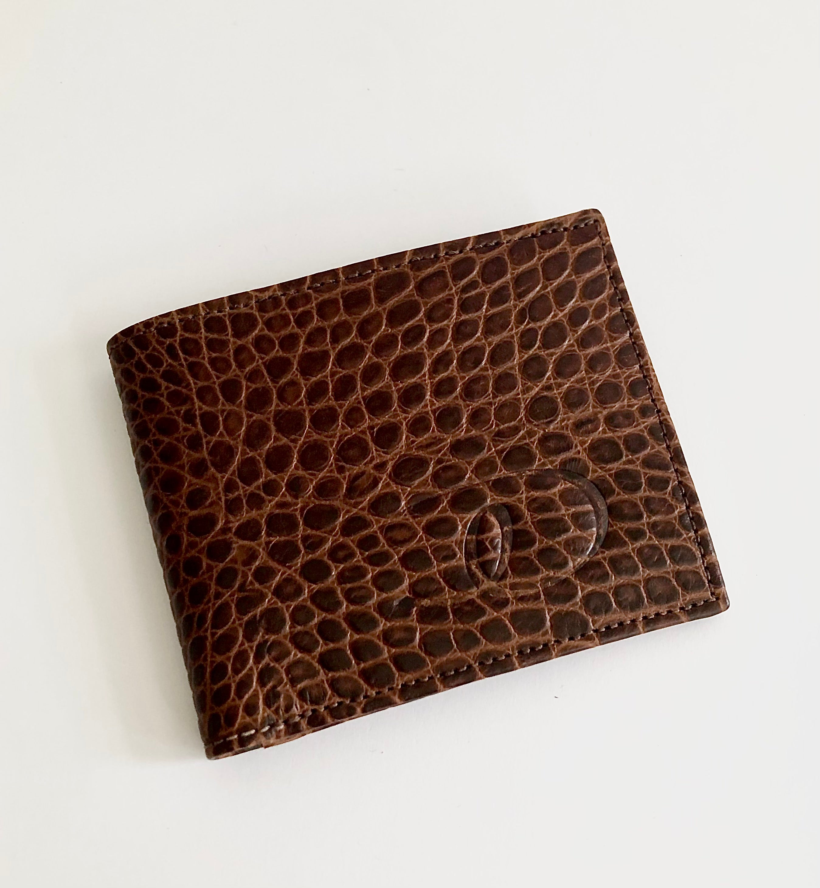 Brown Croco Wallet