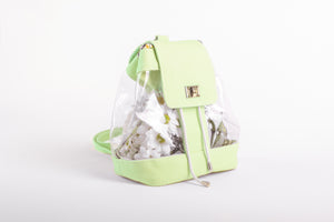 Plastic Green Backpack