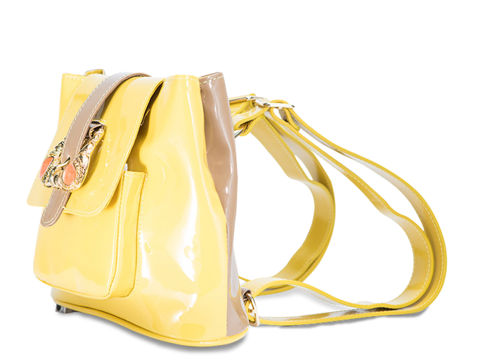 Yellow mix Mini BackPack