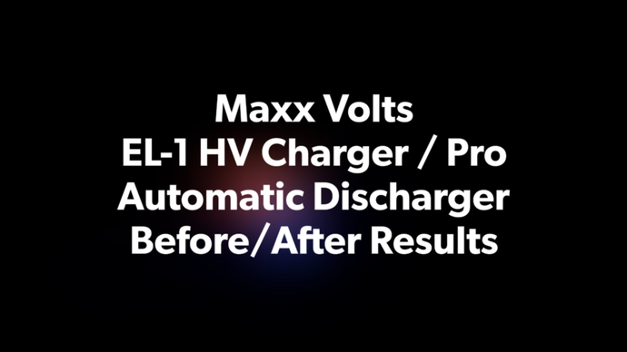 Maxx Volts HV Battery Charger and Pro Automatic Discharger on Prius Customer vehicle posted before and after results!