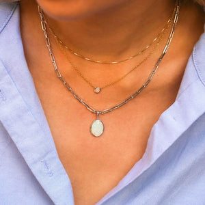 Statement Opal Necklace