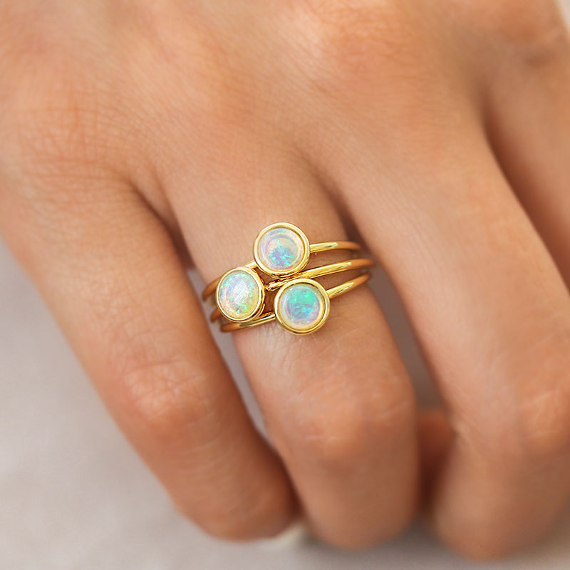 Enchanted Opal Ring