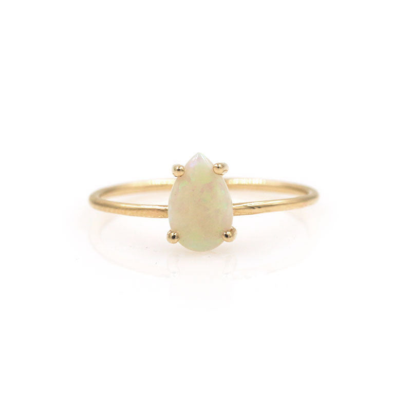 14K Blissful Opal Ring