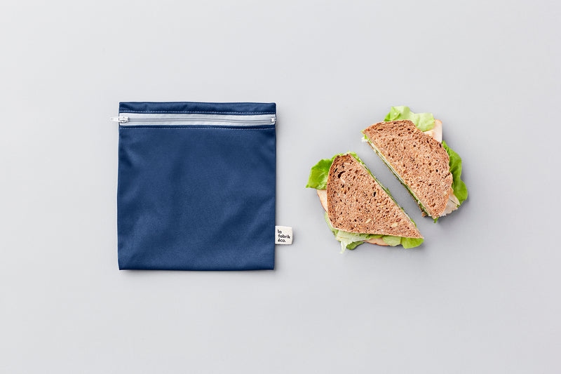 Sac à lunch réutilisable - Grand par la fabrik éco. vendu par SignéLocal.com