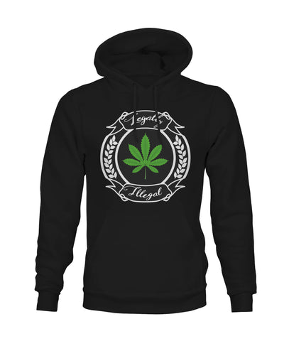 Legally Illegal Men's Classic MJ Hoody