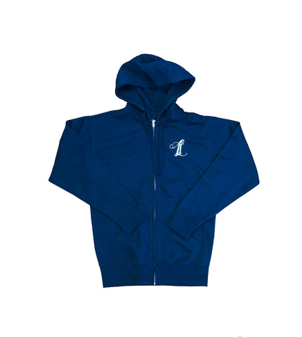 Legally Illegal Initial Zip Hoody