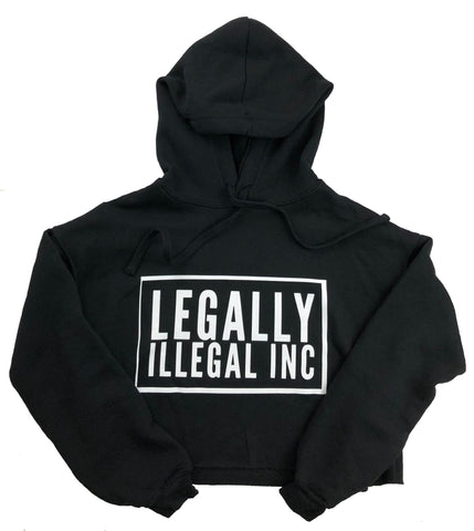 Women's L.I. Inc Cropped Hoody