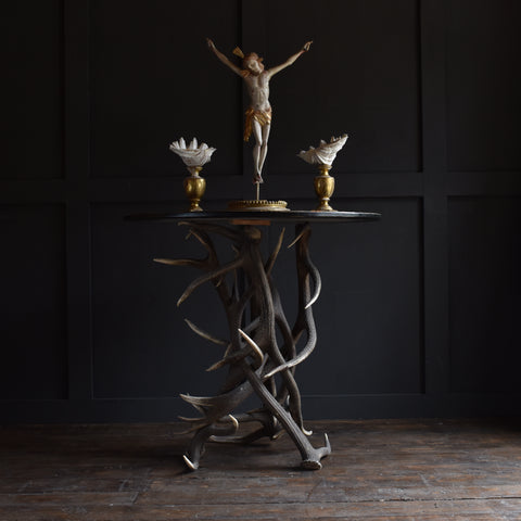 Early 20th Century Antler Tavern table.