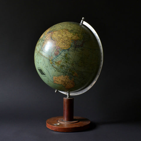 1930's Columbus Terrestrial Table Globe