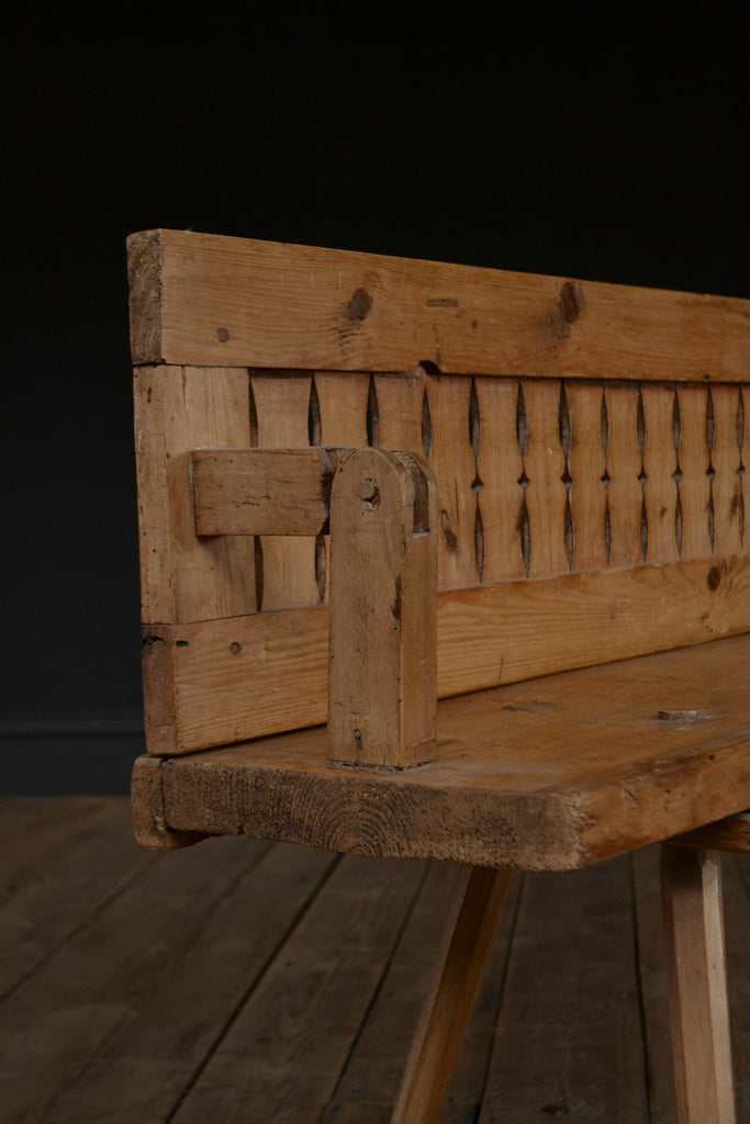 Dutch Reversible Tram Bench Circa 1900 Hunter And Rose