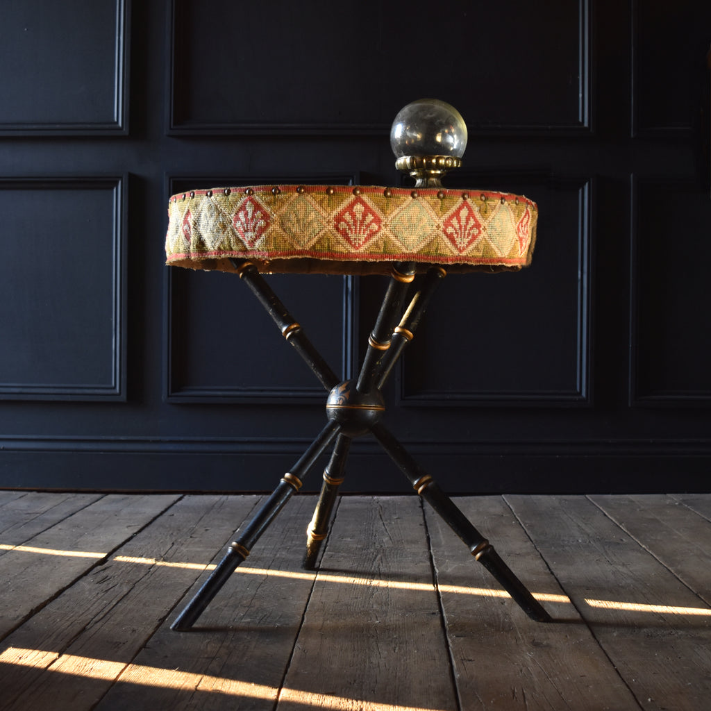 19th Century Ebonised Gypsy Table, Circa 1850-1880.