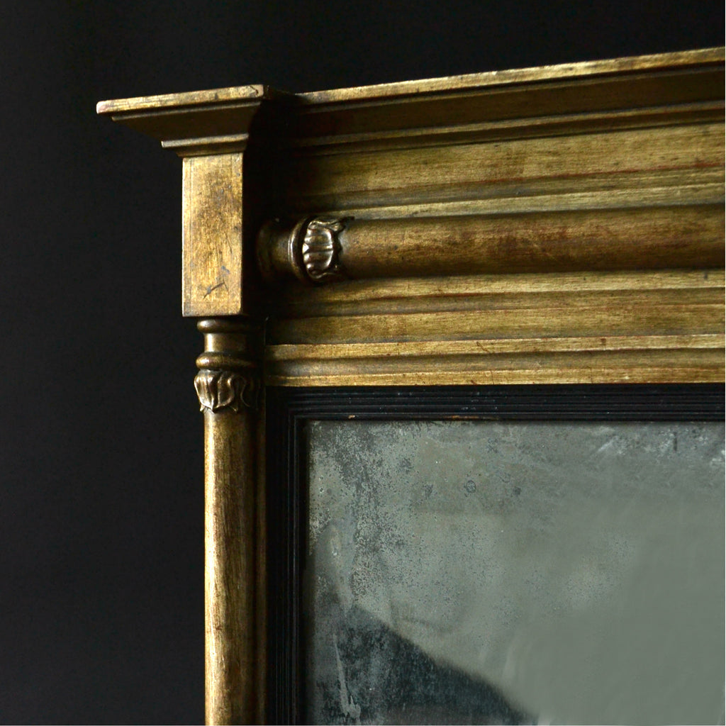 Regency Gilt Framed Pier Mirror, Circa 1820
