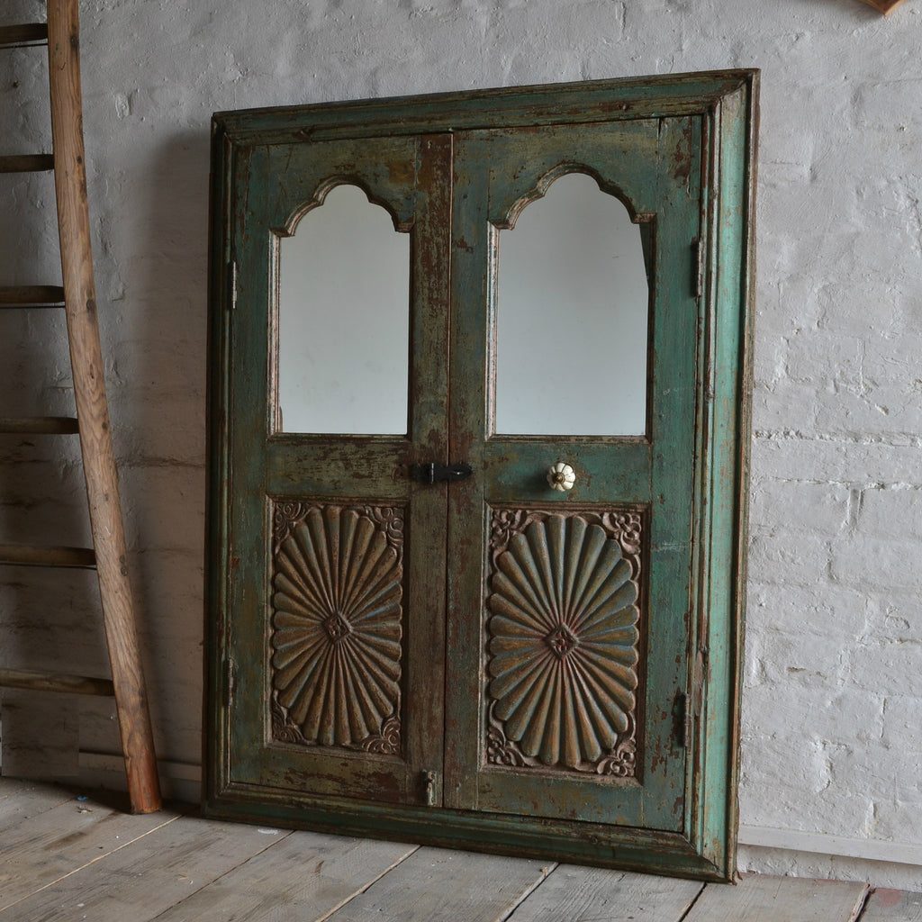 18th Century Window Shutter Mirror 'SOLD'