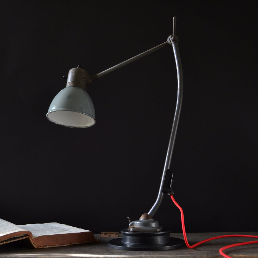 Machinists Desk Lamp Manufactured by Kandem - Type 802, Circa 1940