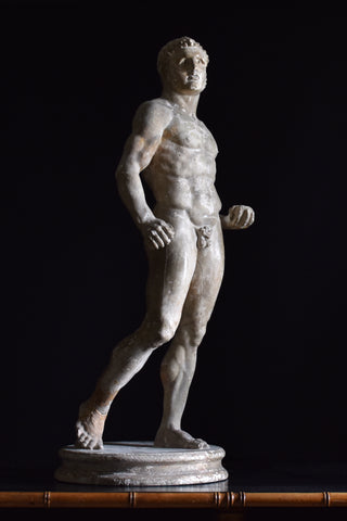 Exceptional 19th Century English Plaster Statue of Capitoline Hercules.