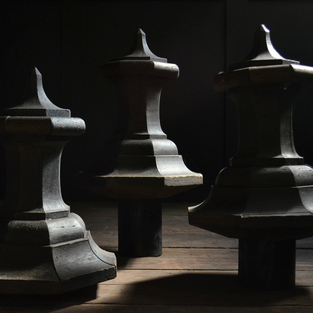 Four Large Regency Period Architectural Finials.