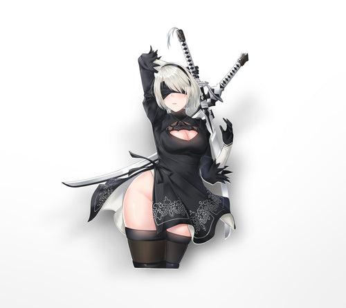 Nier 2B Kiss-Cut