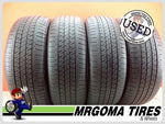 4 BRIDGESTONE ECOPIA H/L 422 PLUS RFT 235/55/19 USED TIRES 8.5/32 RMNG 101V 2355519