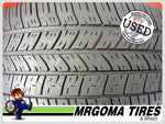 4 GOODYEAR EAGLE RS-A 245/55/18 USED TIRES 6.7/32 RMNG MERCEDES RSA 103V 2455518